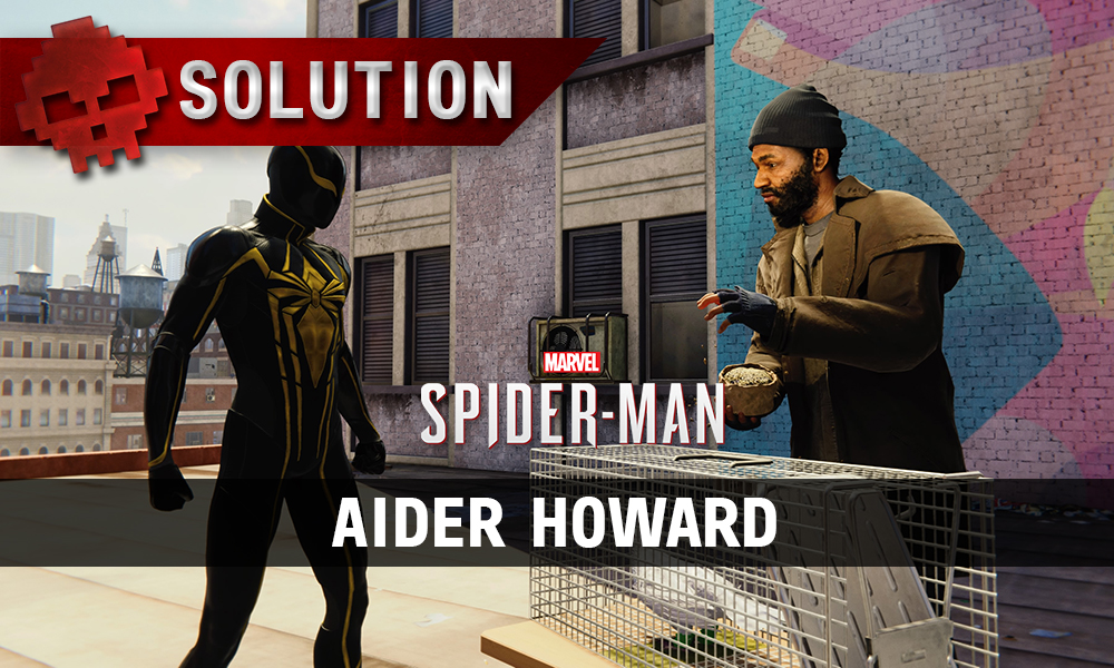Vignette solution spider-man aider howard