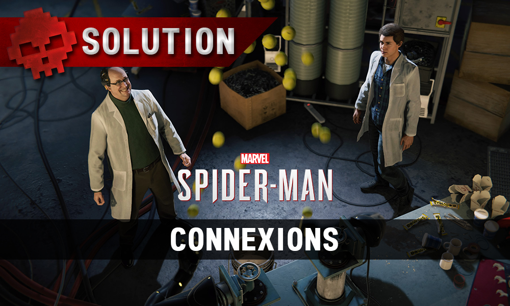 Vignette solution spider-man connexions