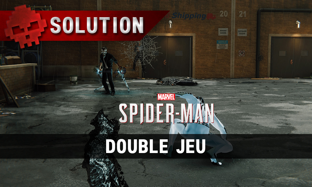 Vignette solution spider-man double jeu