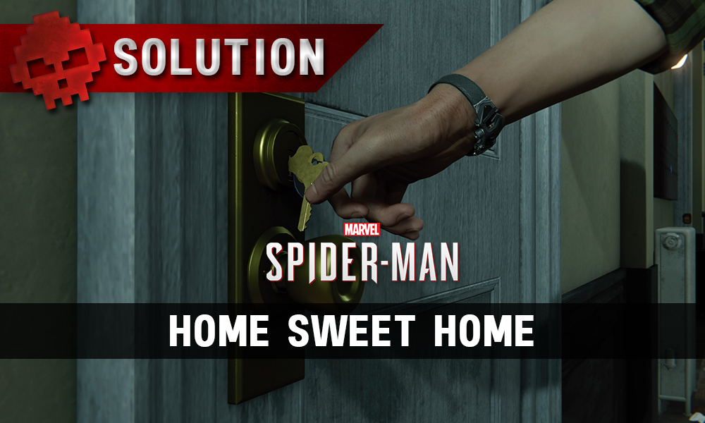 Vignette solution spider-man home sweet home