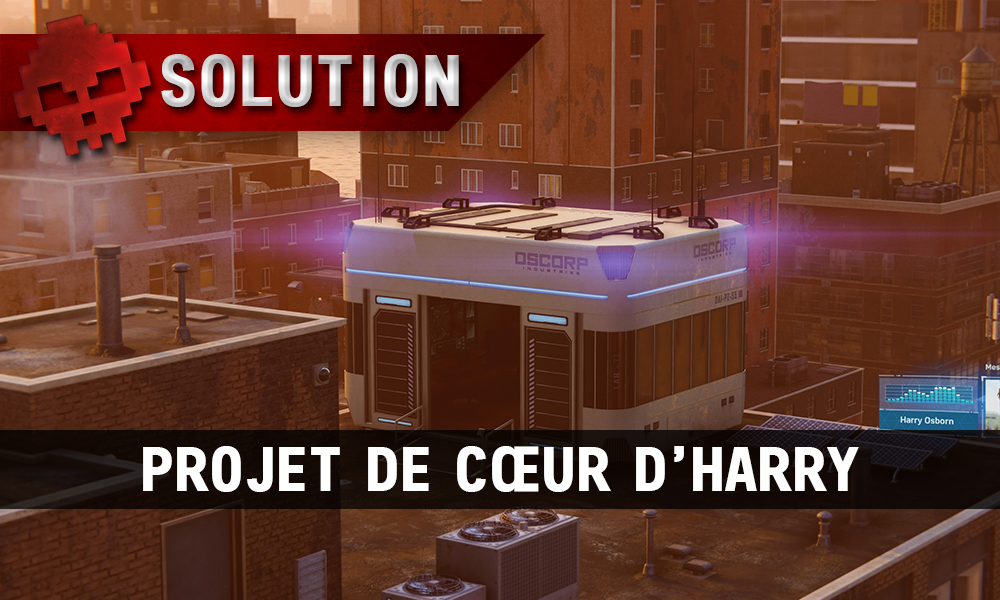 Vignette solution spider-man projet de cœur d'harry