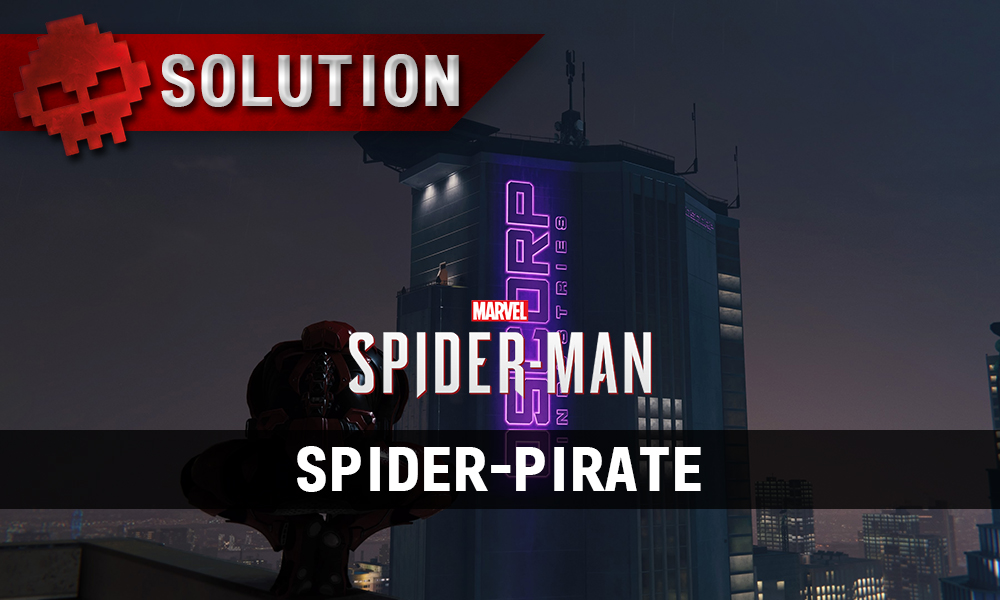 Vignette solution spider-man spider-pirate