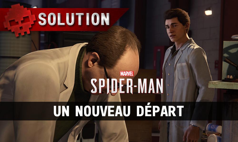 Vignette solution spider-man un nouveau départ