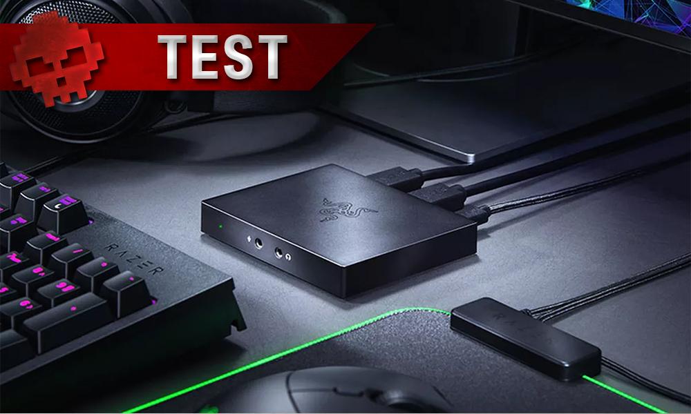 Vignette test Razer Ripsaw HD