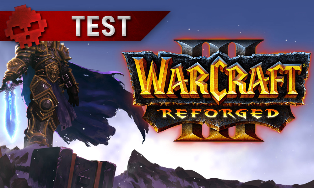 Vignette test Warcraft 3 Reforged