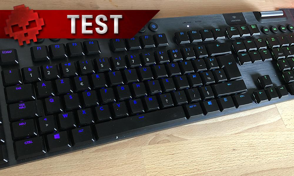 Vignette test logitech g915