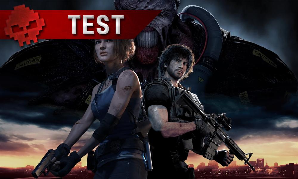 Vignette test resident evil 3