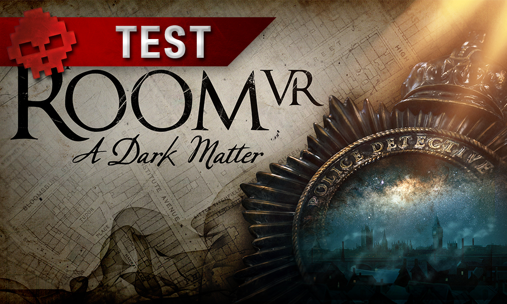Vignette test the room vr a dark matter