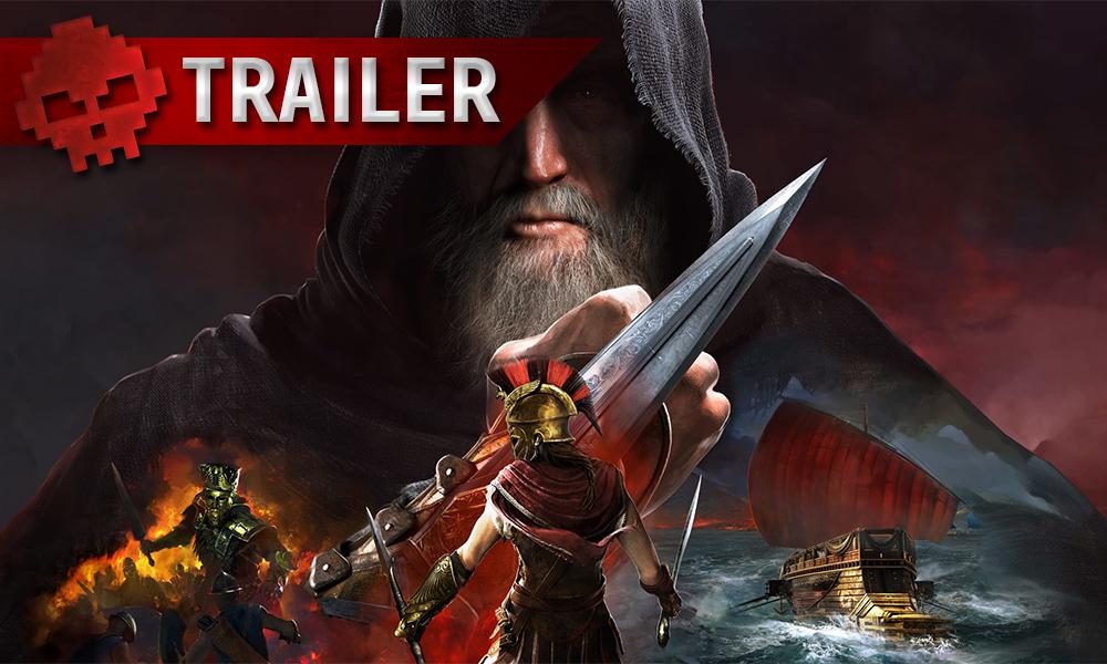 Vignette trailer Assassin's Creed Odyssey l'héritage de la première lame