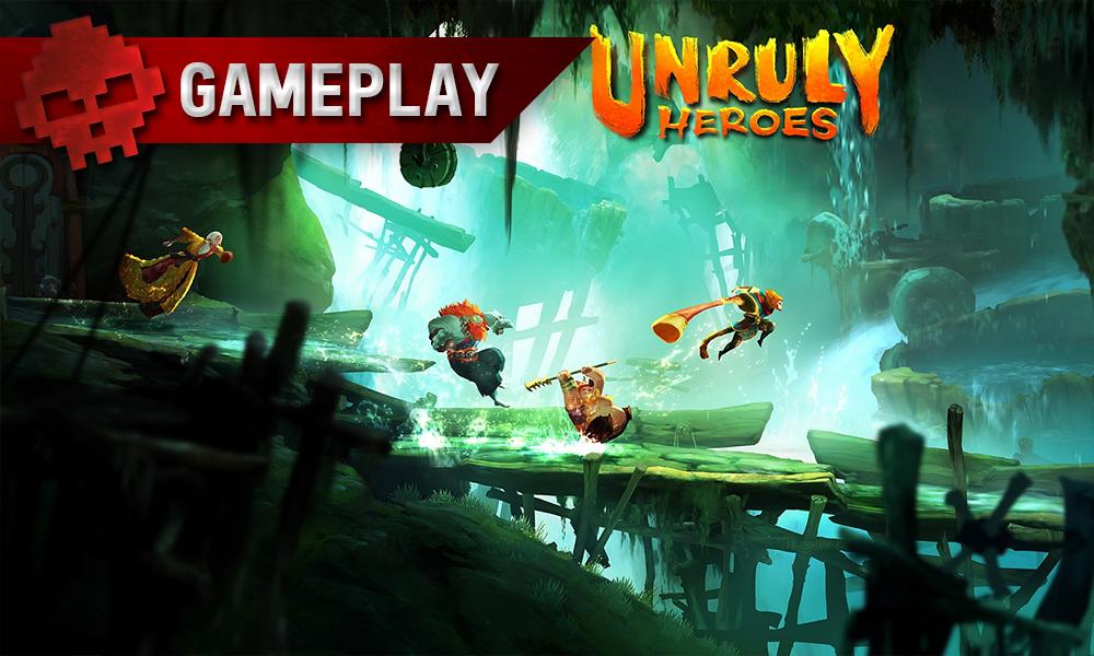 Vignette trailer Unruly Heroes