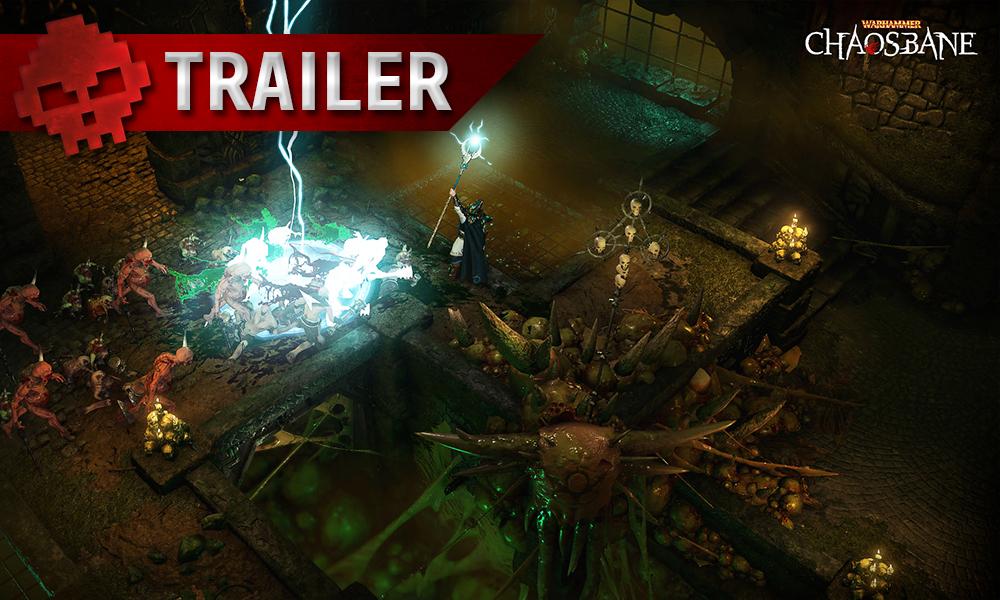 Vignette trailer Warhammer Chaosbane