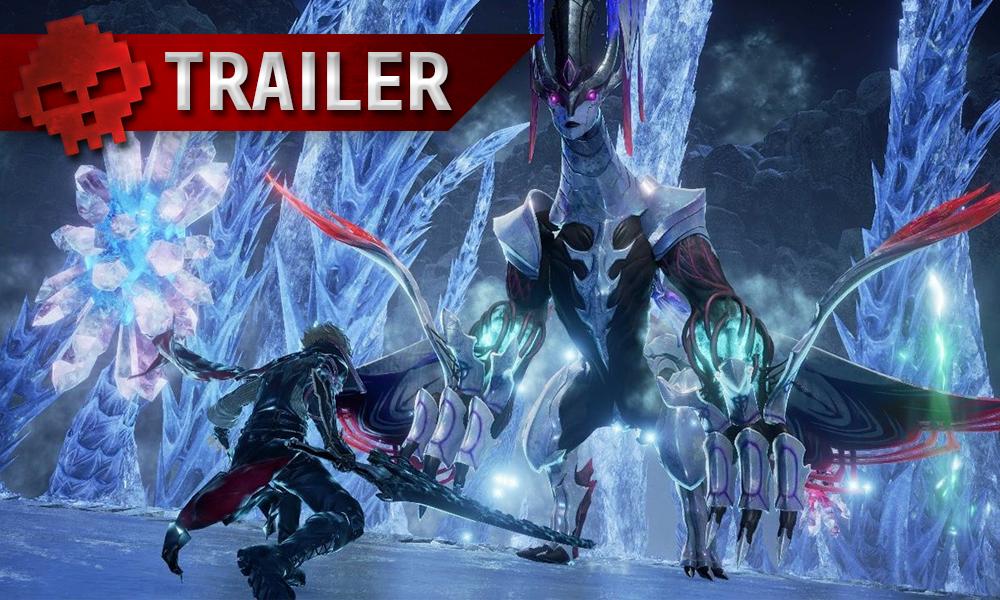 Vignette trailer code vein frozen empress
