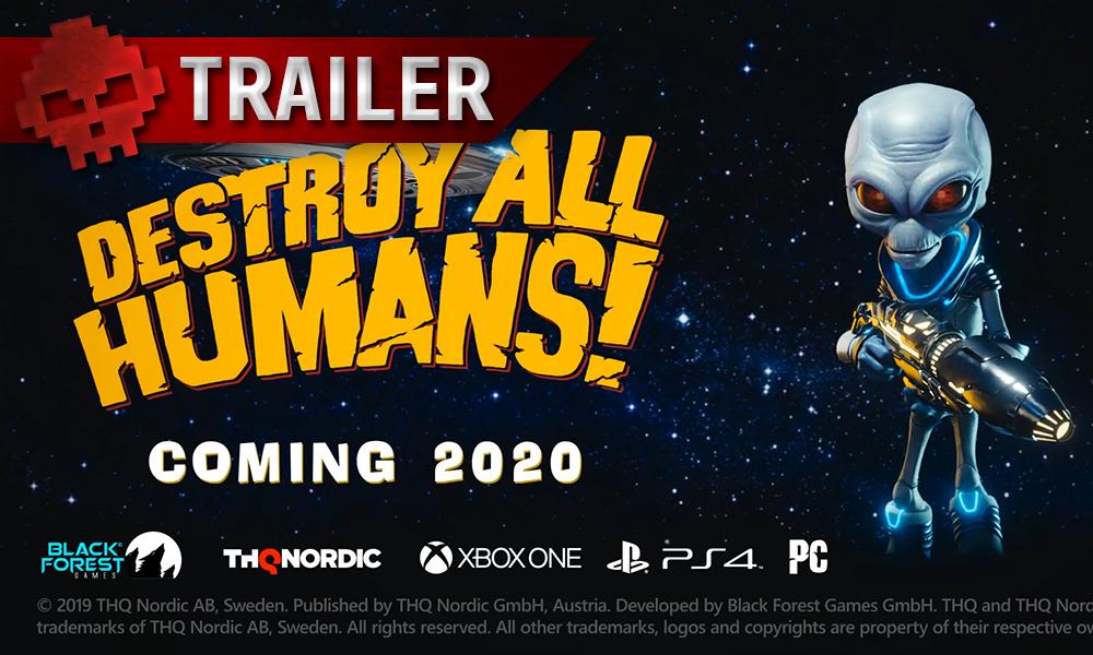 Vignette trailer destroy all humans