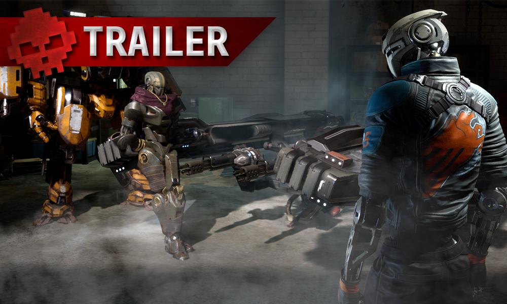 Vignette trailer disintegration