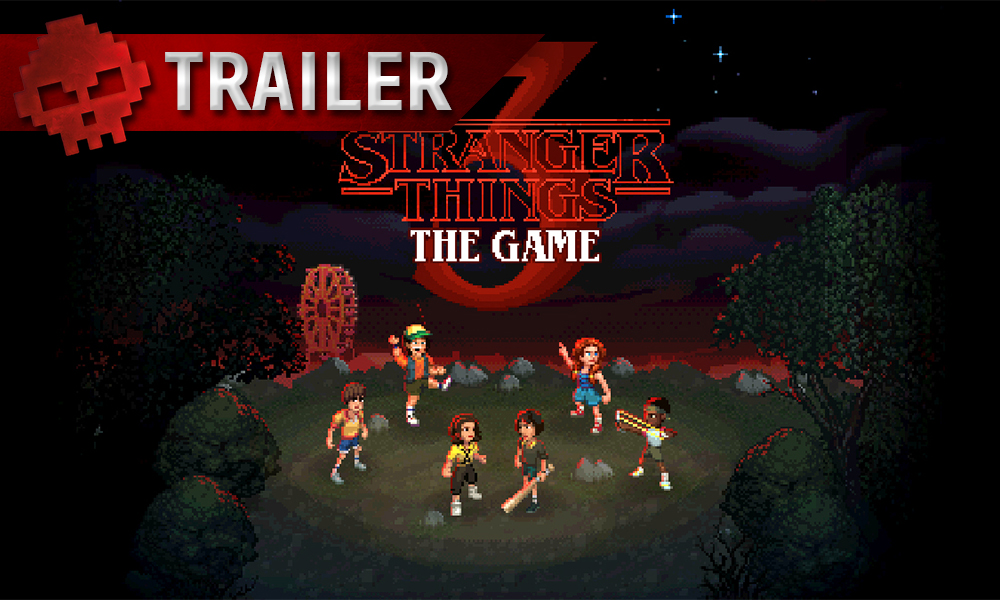 Vignette trailer stranger things 3 the game