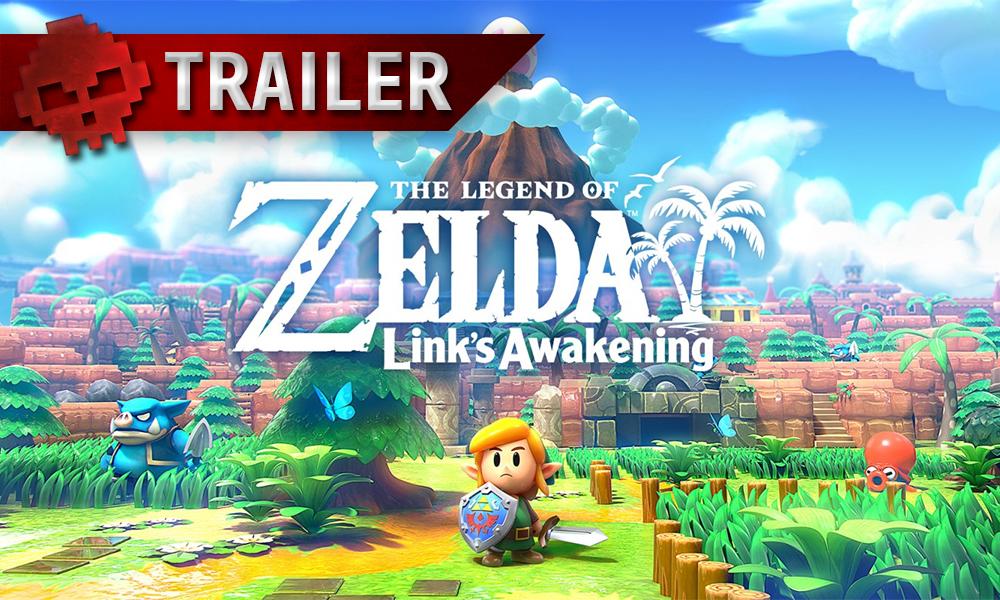 Vignette trailer the legend of zelda links awakening