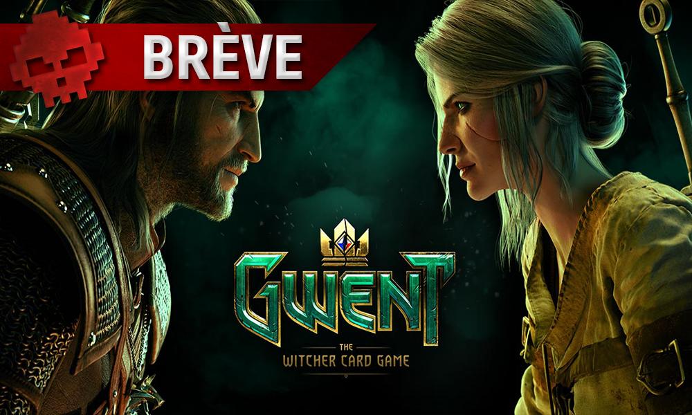 Geralt face à Ciri