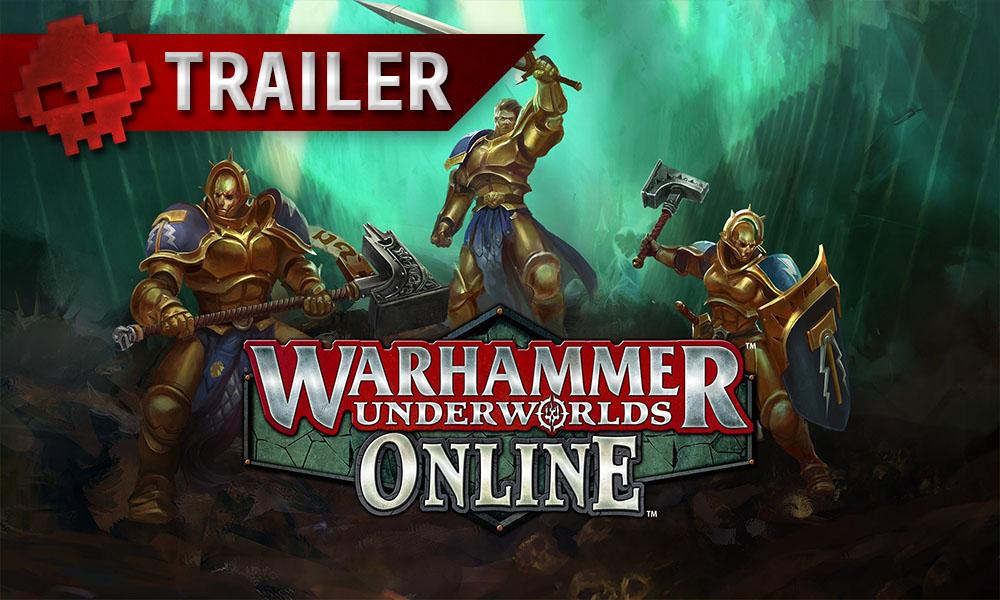 Vignette trailer Warhammer underworlds online