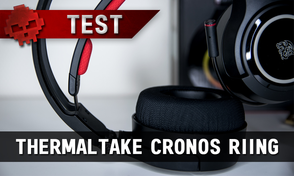 Test Thermaltake Cronos Riing - Après les ventilos, les casques audio