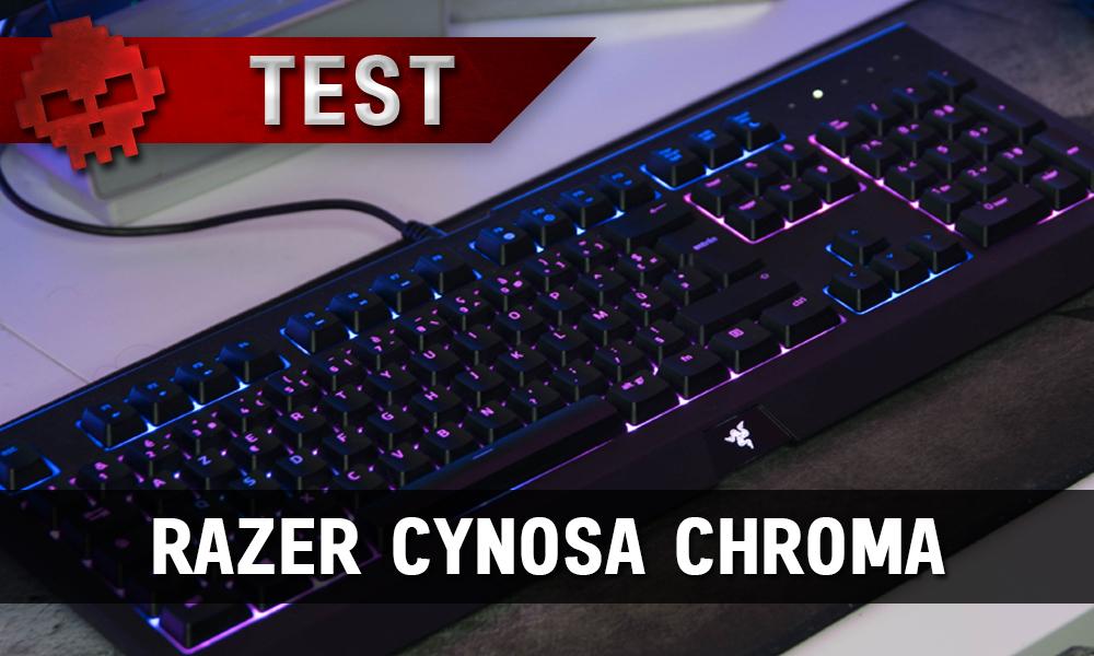 Razer Cynosa Chroma - Silence, ça joue - vue globale