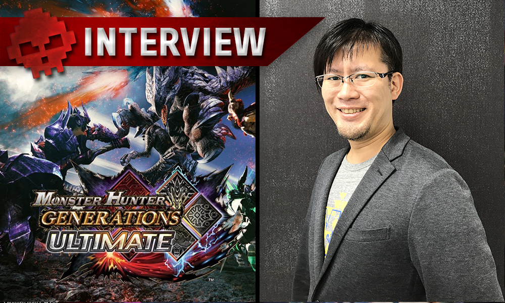 Shintero Kojima, producteur de Monster Hunter Generation Ultimate