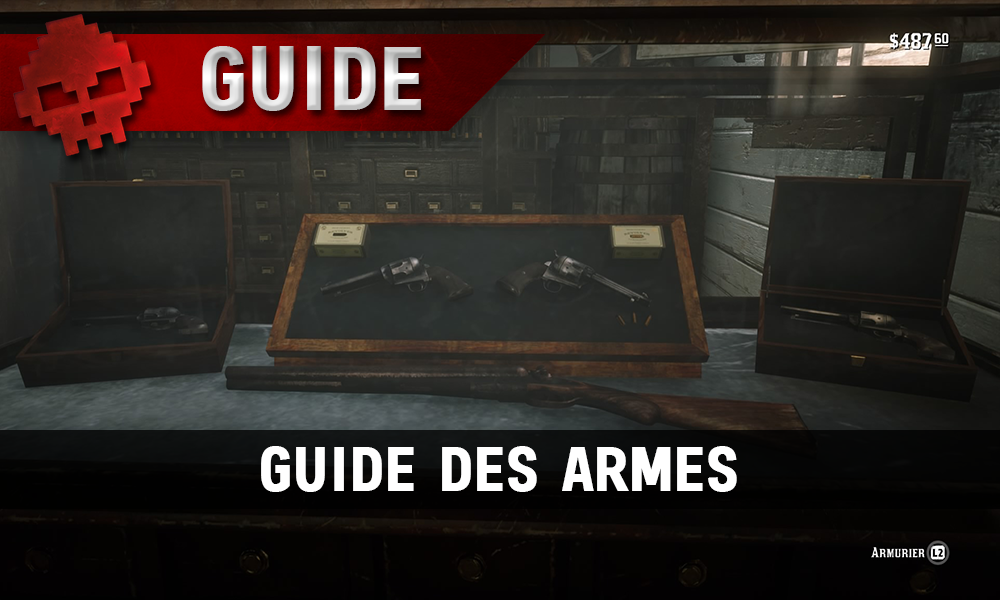 guide red dead redemption 2 les armes vignette