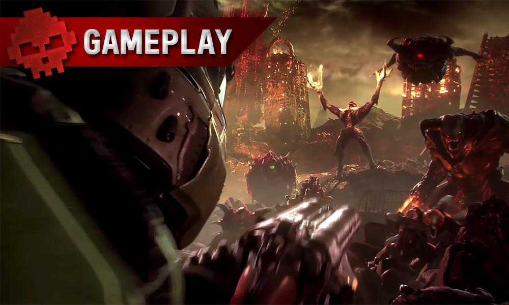 Vignettes gameplay Doom Eternal