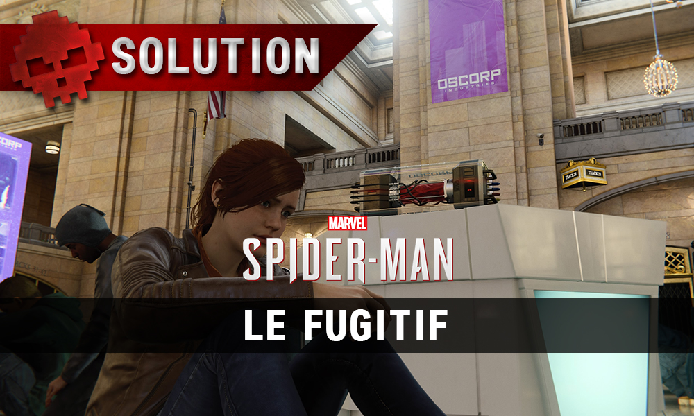Vignette solution spider-man le fugitif