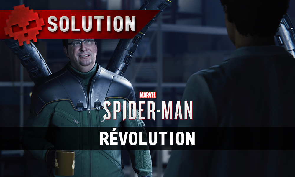 Vignette solution spider-man révolution