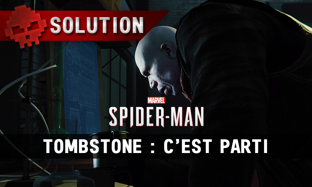Vignettes solution spider-man tombstone c'est parti