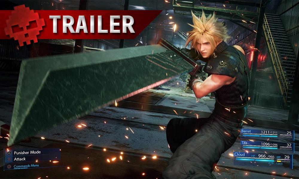 Vignettes trailer ff7r