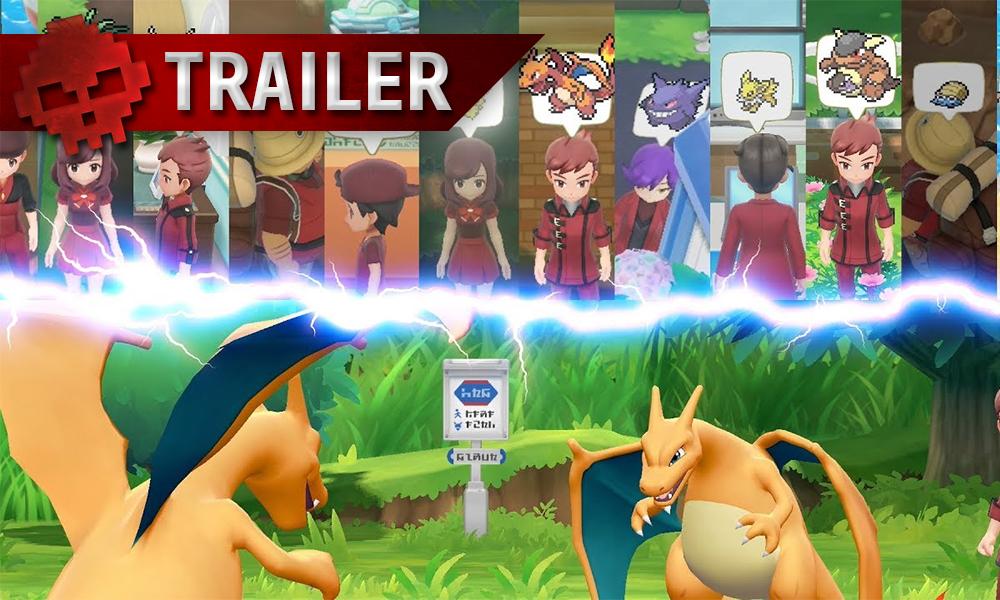 Vignettes trailer pokémon let's go
