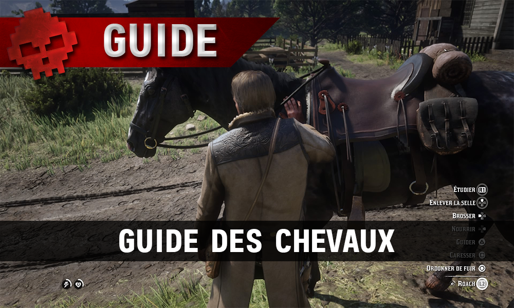 Guide red dead redemption 2 guide des chevaux vignette