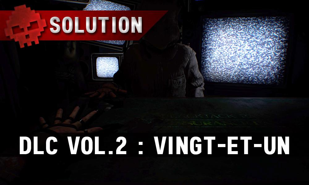 Solution Resident Evil 7 Biohazard - Vingt-et-un télés