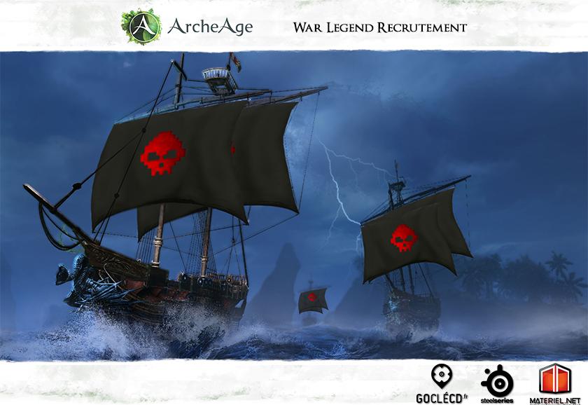 ArcheAge Recrutement WL