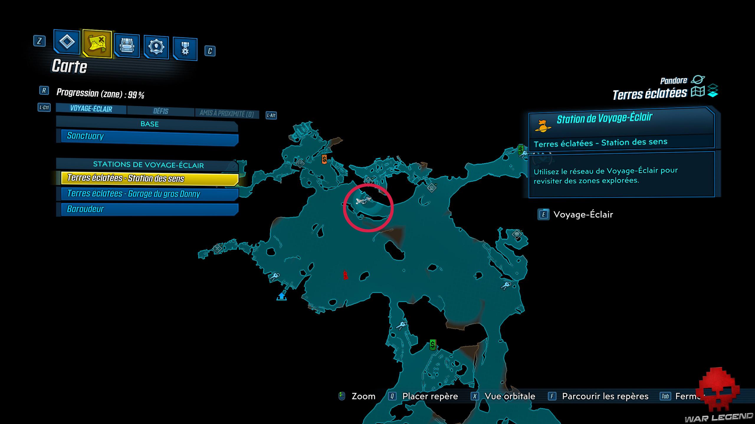 guide borderlands 3 coffres rouges