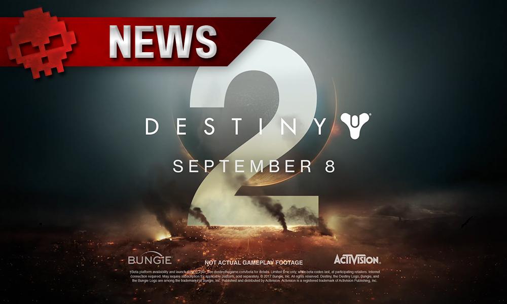 Destiny 2 - Le chef du projet explique pourquoi il sera bloqué à 30 IPS sur Xbox One X - logo