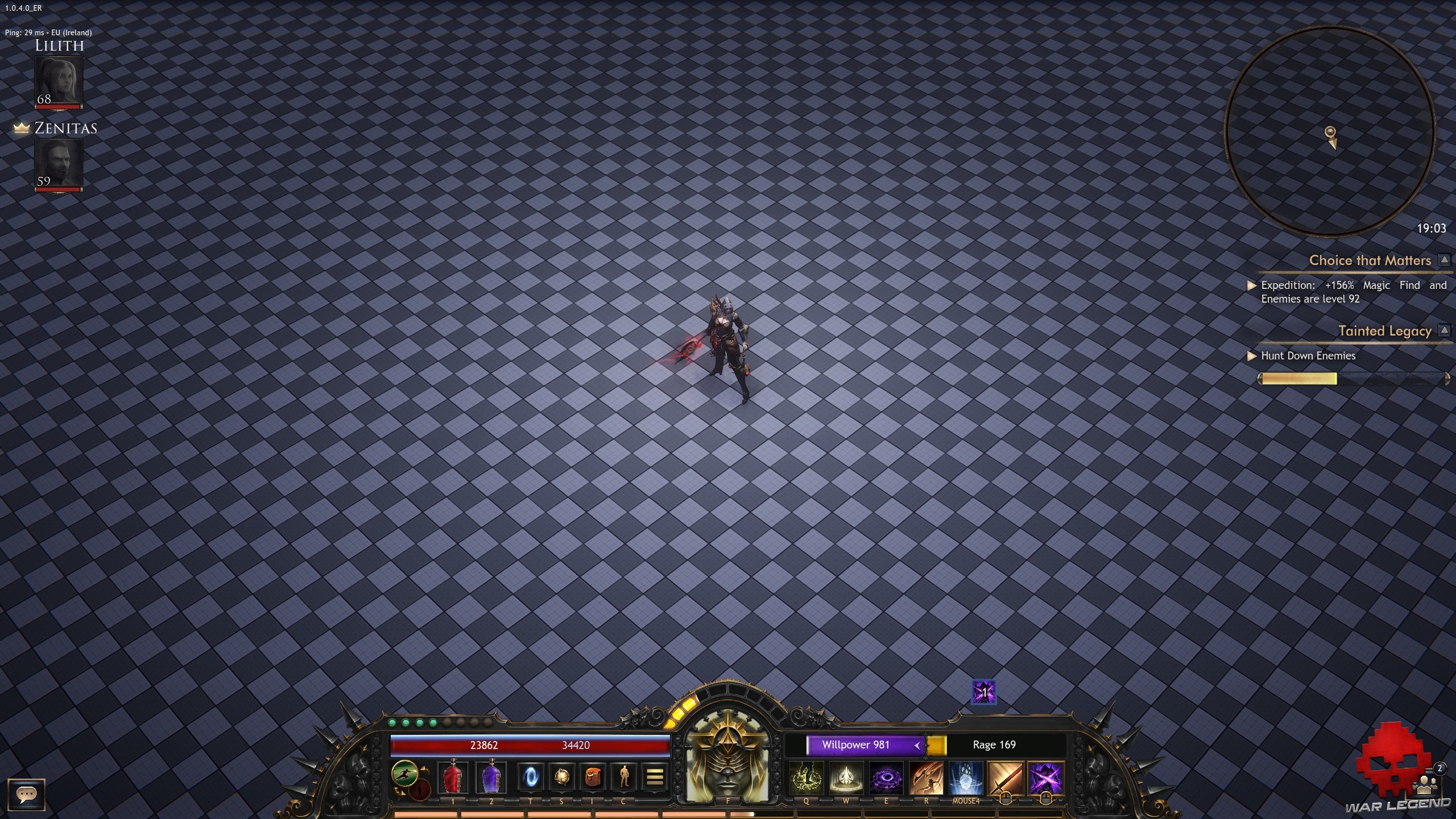 Wolcen lords of mayhem bug map
