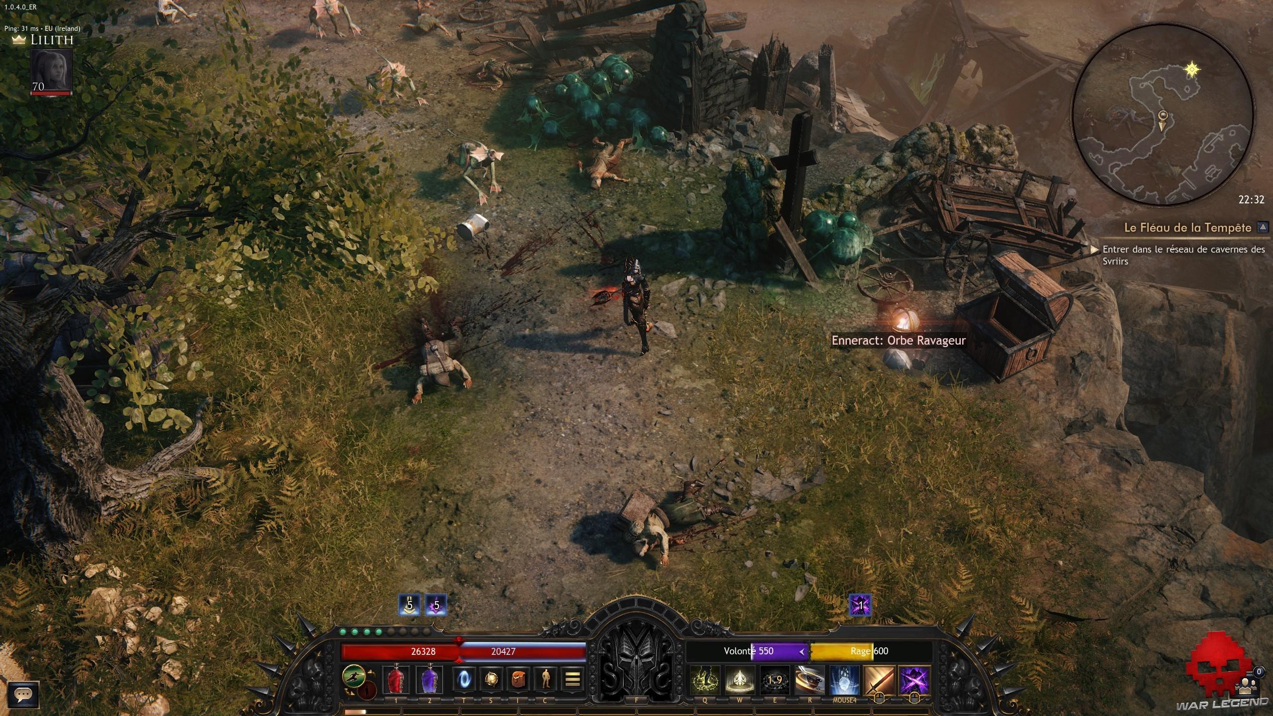 WL wolcen lords of mayhem enneract