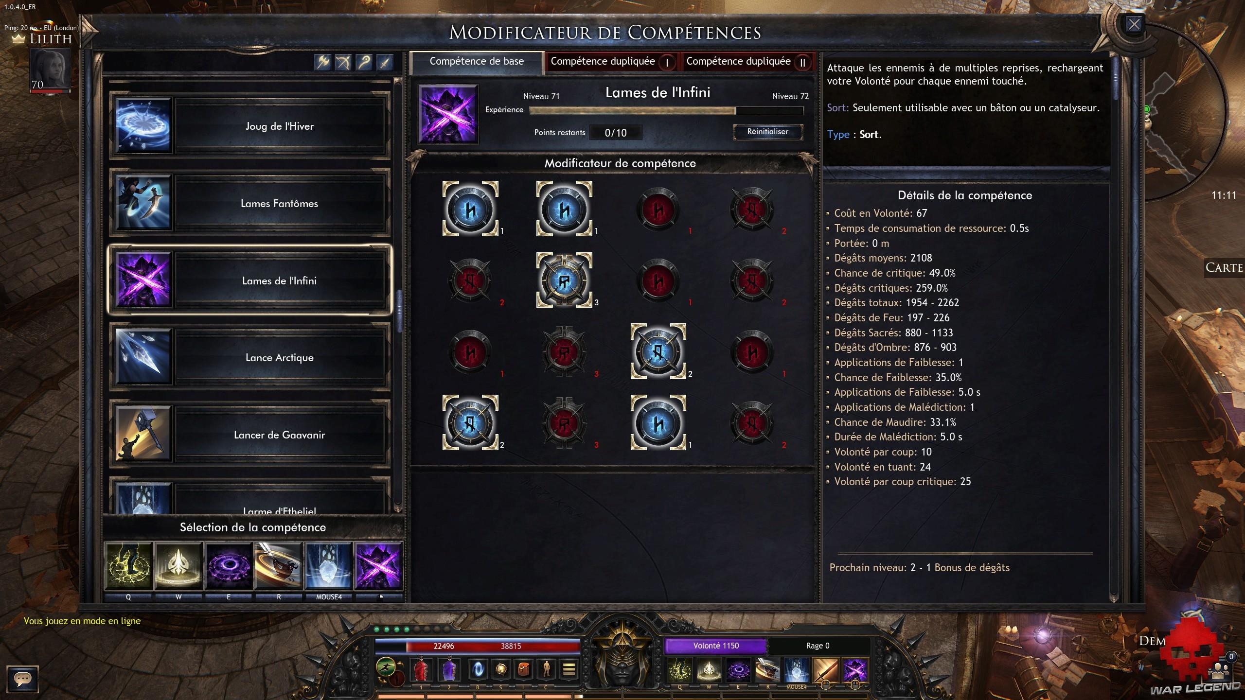 WL wolcen lords of mayhem runes