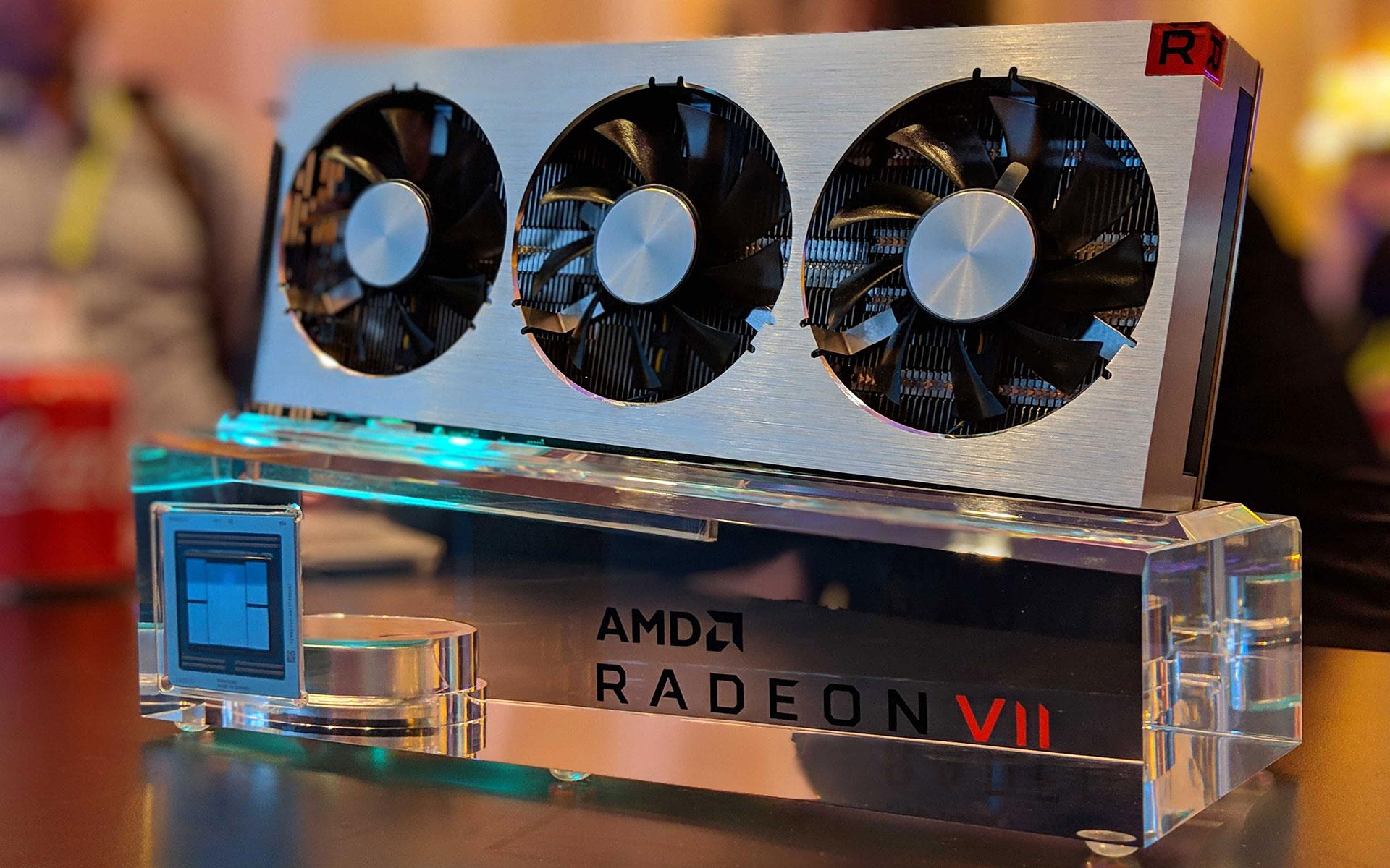 photo AMD Radeon 7