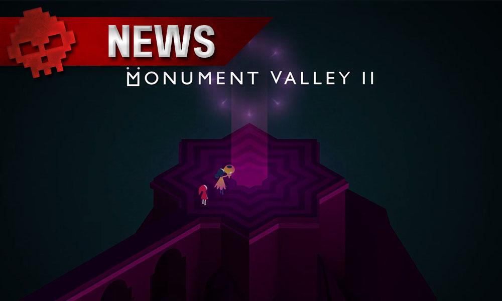 Monument Valley 2 - Annoncé et directement publié avec un trailer - Logo + personnages du jeu