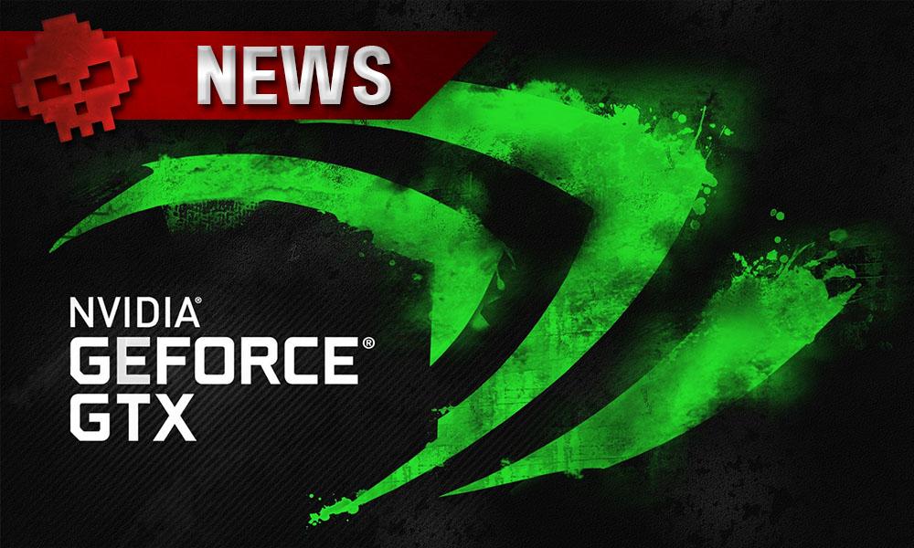 NVIDIA - Rocket League vous est offert à l'achat d'une GTX 1050 ou 1060 - Logo NVIDIA GeForce GTX