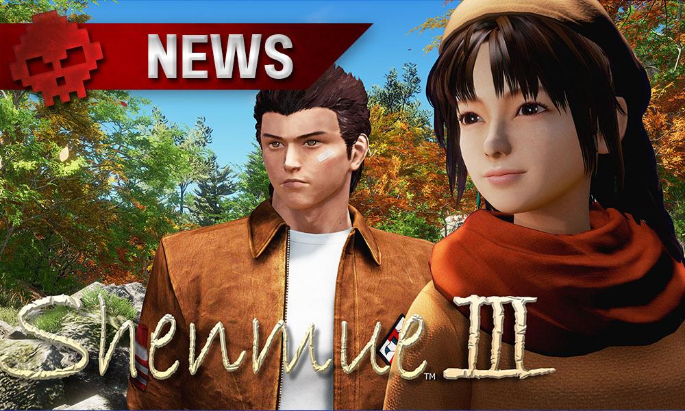 Shenmue 3 manquera l'E3 2017