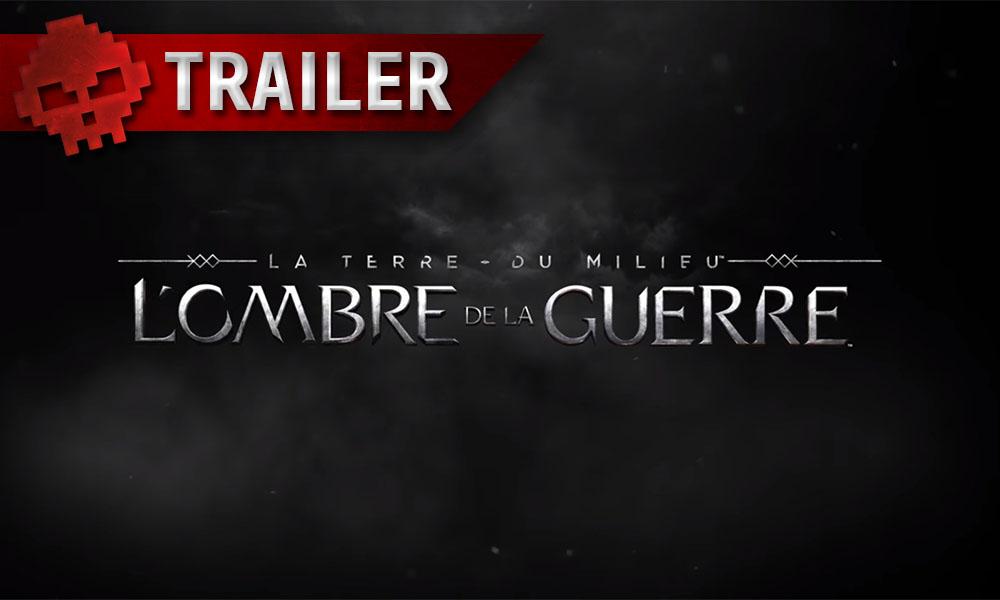 La Terre du Milieu : L'Ombre de la Guerre - Un nouveau trailer résume l'histoire du titre - Logo