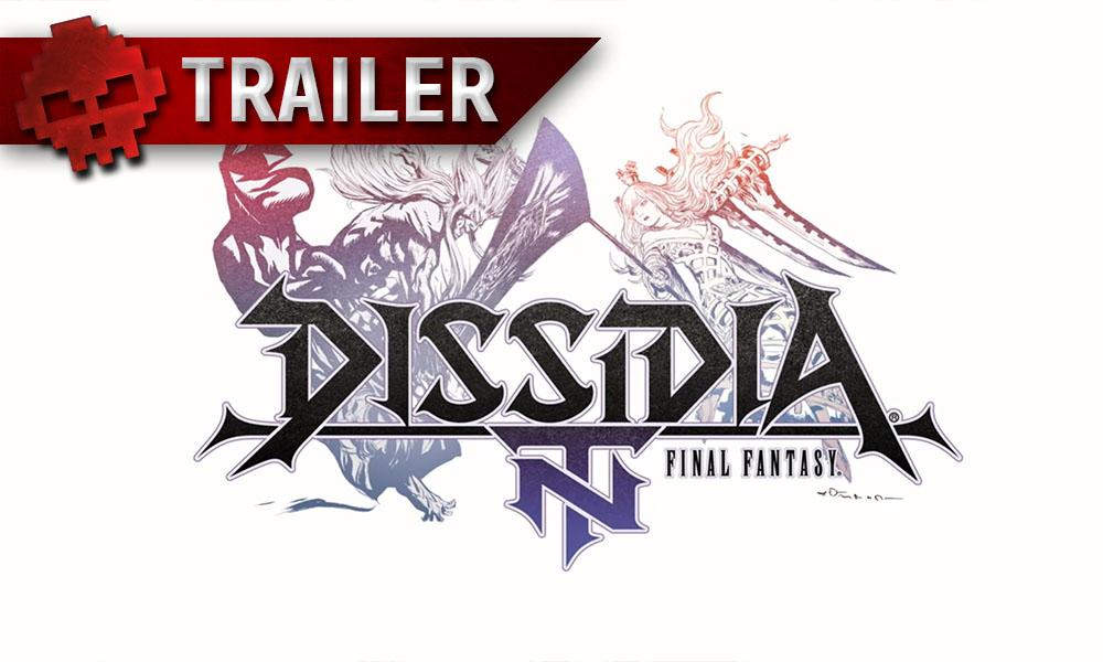 Dissidia Final Fantasy NT - Le titre se dévoile avec un trailer et des screens - Logo