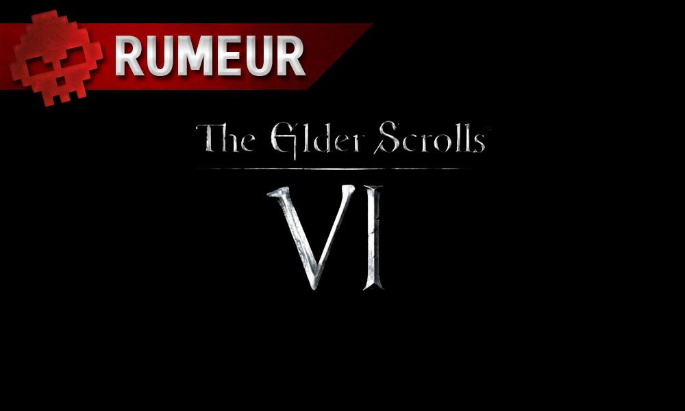 Bethesda - Un potentiel The Elder Scrolls VI à l'E3 et de nombreuses fuites - Logo TES VI