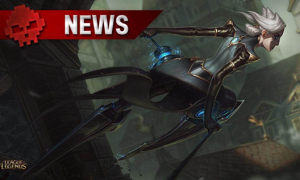 LoL - Camille, l'Ombre d'acier dévoile ses capacités