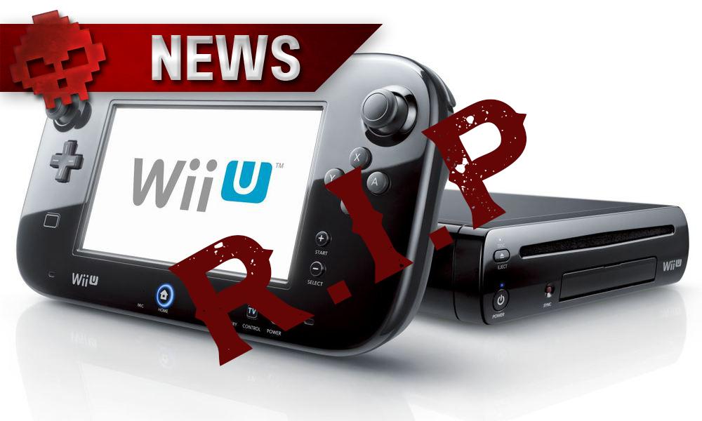 Arrêt de production Wii U - WarLegend