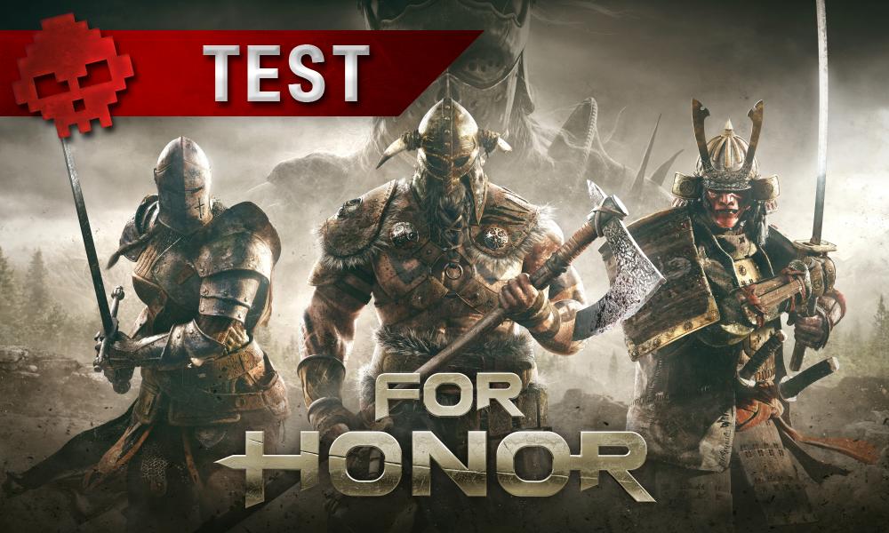 Test For Honor vignette test samouraï viking chevalier